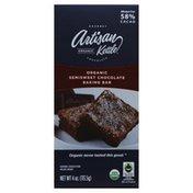 Artisan Kettle Organic Semisweet Chocolate Baking bar