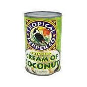 Tropical Pepper Co. Sweetened Cream Of Coconut