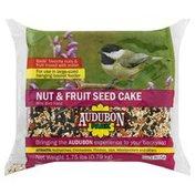 Audubon Park Wild Bird Food, Nut & Fruit Seed Cake
