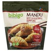 Bibigo Dumpling, Beef & Vegetable, Mandu