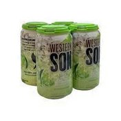 Western Son Vodka Lime Vodka Seltzer
