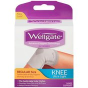Wellgate Knee Support, Ultra-Light, Regular Size