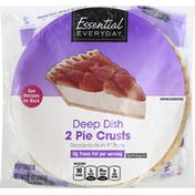 Essential Everyday Pie Crusts, Deep Dish