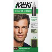 Just For Men Shampoo-In Color, Medium Brown H-35