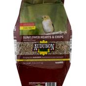 Audubon Park Wild Bird Food, Sunflower Hearts & Chips