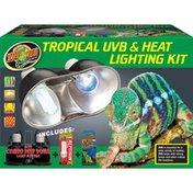 Zoo Med Dual Tropical Uvb & Heat Lighting Kit