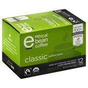 Ethical Bean Coffee Coffee, Classic, Medium Roast, K-Cup