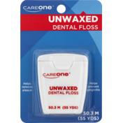 CareOne Dental Floss Unwaxed