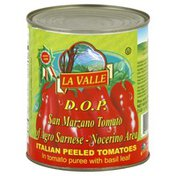 La Valle D.O.P. San Marzano Tomatoes, Peeled