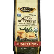 Alessi Bruschette, Organic, Traditional, Italian