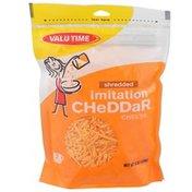 Valu Time Shredded Imitation Cheddar Cheese