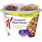 Kellogg's Special K Cinnamon Raisin Pecan Hot Cereal