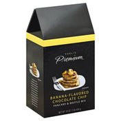 Publix Premium Pancake & Waffle Mix, Banana-Flavored Chocolate Chip