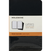 Moleskine Journals, Ruled, Black