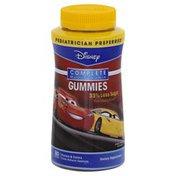 Nature Smart Multi-Vitamin, Complete, Gummies, Disney Pixar Cars