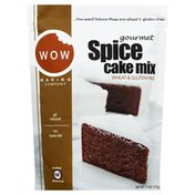 WOW Baking Company Cake Mix, Gourmet, Spice, Pouch