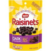 Raisinets Dark Chocolate Covered California Raisins