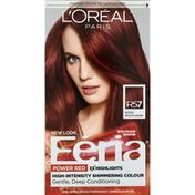Feria Permanent Haircolour Gel, Intense Medium Auburn R57