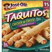 José Olé Taquitos, in Flour Tortillas, Chicken & Cheese