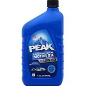Peak Motor Oil, Conventional, SAE 10W-30