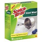 Scotch-Brite Steel Wool Soap Pads
