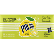 Polar Seltzer'Ade, Sparkling, Starfruit Lemonade
