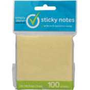 Simply Done Sticky Notes