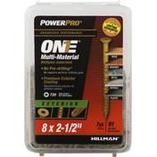 Power Pro Screws, Exterior, Multi-Material