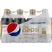 Diet Pepsi Diet Caffeine Free Soda
