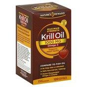 Nature's Reward Krill Oil, Maximum Strength, 1000 mg, Quick Release Softgels