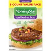 Morning Star Farms Spicy Black Bean Veggie Burgers