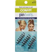 Conair Pin Twirls Metal Spiral Pins