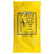 Native Tortilla Chips, Fresh-Cut White Corn, Thick