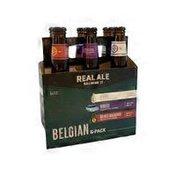 Real Ale Brewing Company Belgian Sampler