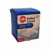 Life Brand Small Rolled Gauze