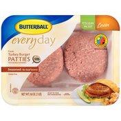 Butterball Everyday Fresh Seasoned 91% Lean Turkey Burger Patties