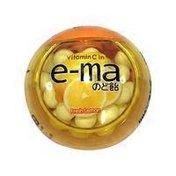UHA E-Ma Fresh Lemon Throat Candy