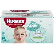 Huggies One & Done Refreshing Cucumber & Green Tea Refills Baby Wipes