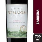 McManis Family Vineyards® McManis® Barbera Red Wine