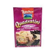 Loacker Wafer Cookies, Bite Size, Blackcurrant