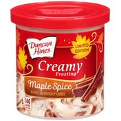 Duncan Hines Creamy Maple Spice Frosting