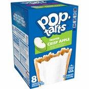 Kellogg's Pop-Tarts Toaster Pastries, Breakfast Foods, Frosted Crisp Apple