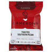 Camerons Coffee, Handcrafted, Toasted Southern Pecan