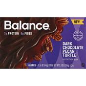 Balance Bar Nutrition Bar, Dark Chocolate Pecan Turtle