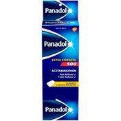 Panadol Extra Strength 500 Caplets Pain Reliever/Fever Reducer