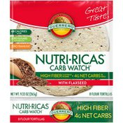 Guerrero Flour Tortillas with Flaxseed