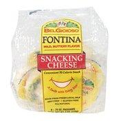 BelGioioso Fontina Cheese Snack Pack, Bag
