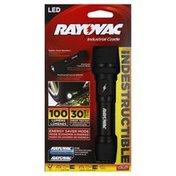 Rayovac Flashlight, Industrial Grade, LED
