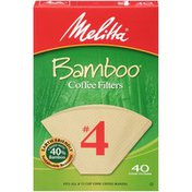 Melitta Natural Brown Paper Cone Coffee Filters