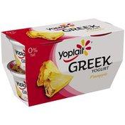 Yoplait Greek Pineapple Fat Free Yogurt